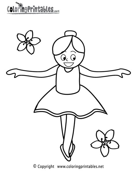 free coloring pages of a girl ballet girl coloring page a free girls coloring printable