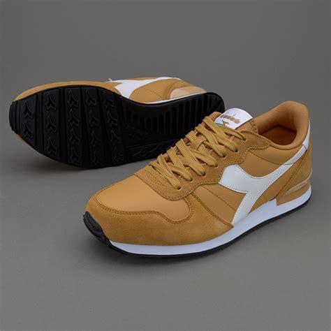 Sepatu Basket Merek Diadora sepatu sneakers diadora camaro leather gold