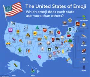 the united states of emoji map reveals vermont is the