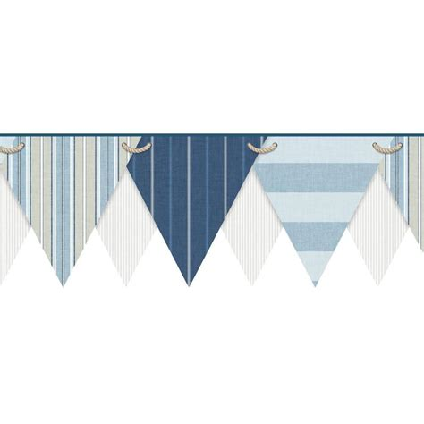 grey nautical wallpaper york wallcoverings nautical living striped pennant
