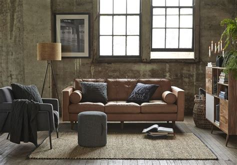 Freedom Furniture Couches by Copenhagen 2 5 Seat Leather Sofa 2699 Freedomaw15