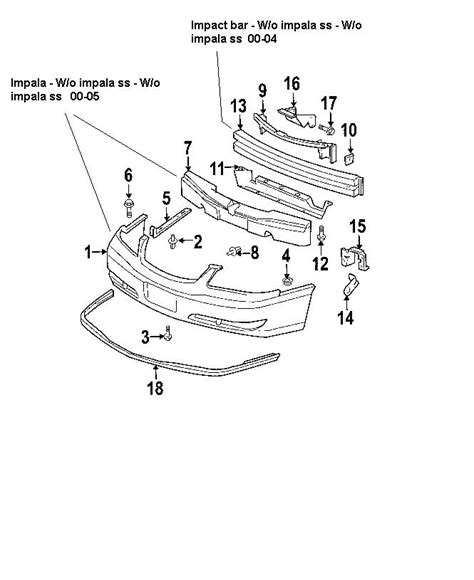 2005 chevy impala parts diagram 2004 chevy impala parts diagram pictures to pin on