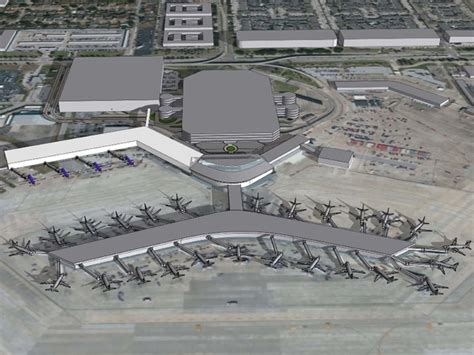 houston airport map southwest houston gets airline terminal of future new 156 million