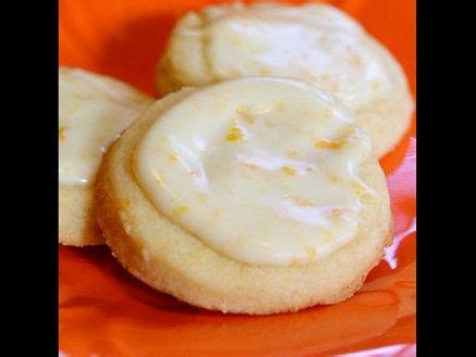 orange zest cookies with icing baking cookies pinterest