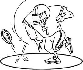 football coloring pages free printable football coloring pages for best