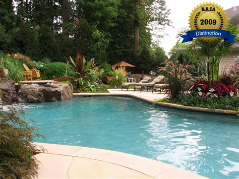 swimming pool landscaping award winning custom swimming pools landscaping new