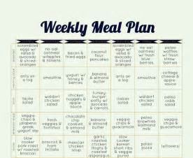 Classic paleo diet meal plan switching from a conventional diet