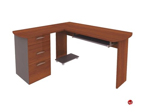 Laminate Computer Desk The Office Leader Bestar 82420 82420 58 L Shape Laminate Computer Desk Workstation