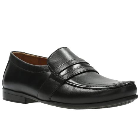 clarks claude aston mens formal slip on shoes from