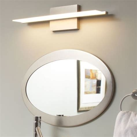 contemporary bathroom lights span bath bar by tech lighting modern bathroom