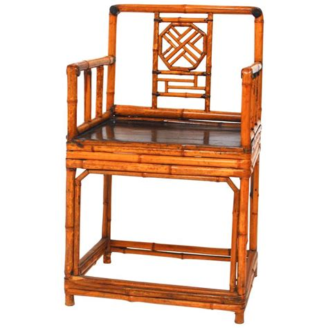 chinese armchair chinese bamboo chinoiserie armchair for sale at 1stdibs