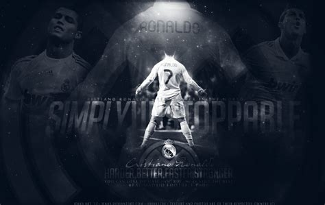 Soccer Wall Mural cristiano ronaldo 7 the best by jekks on deviantart