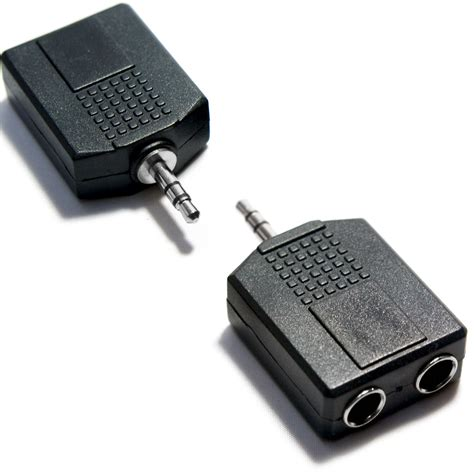 Ghz Rca To Aux Adapter 35mm Black best reviews 3 5mm stereo mini to 2 rca