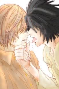 l with light deathnote l and light by saiyan chan on deviantart