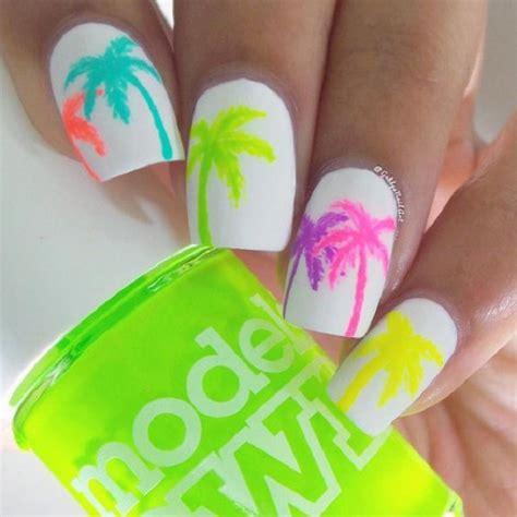 easy nail art palm tree 40 palm tree nail art ideas nenuno creative