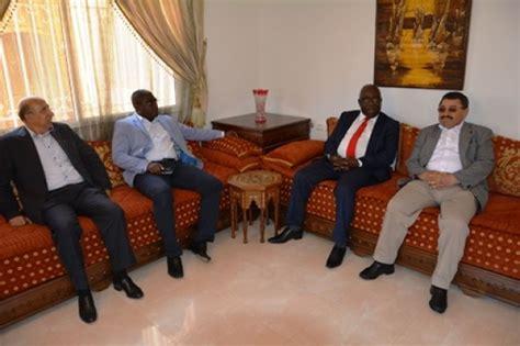 chambre de commerce du maroc le ministre d etat mathieu mboumba nziengui rencontre le