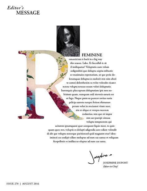 magazine layout editor salary drop cap adobe indesign typography magazine design fill