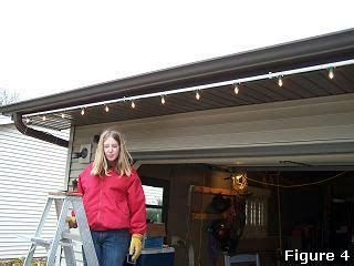 how do i put up lights outside easy way to put up lights pvc pipes think