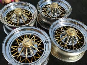 Gold Truck Rims For Sale Cragar Rims Pre Owned 30 Spoke Gold Chrome Wire