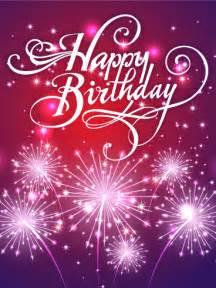 Birthday fireworks card birthday amp greeting cards by davia free