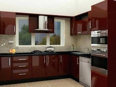 parallel shaped modular kitchen designs images