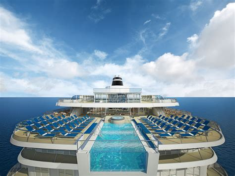 aidaprima innenpool the five most stunning cruise ship swimming pools