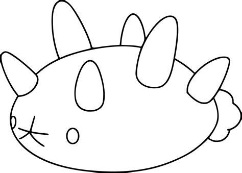 coloring pages pyukumuku coloring page