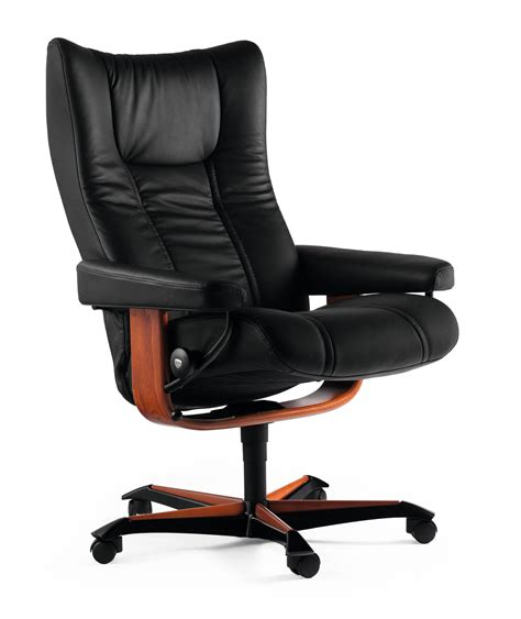 Stressless Office Chair by Ekornes Stressless Wing Office Chair Fast U S Delivery