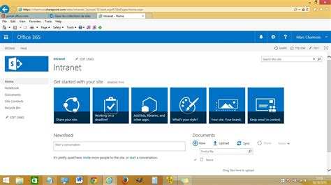 set up an intranet with office365 sharepoint online publishing