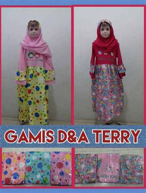 Konveksi Gamis Surabaya Konveksi Gamis Dna Terry Syar I Anak Perempuan Murah