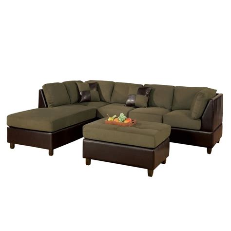 3 piece microfiber sectional best 25 3 piece sectional sofa ideas only on pinterest