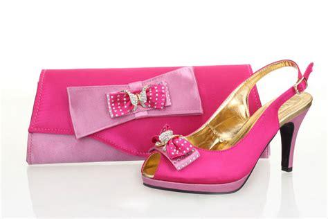 free shipping selling fushia pink italian shoes and