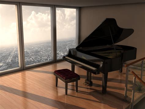 piano in room piano room by imonkey89 on deviantart