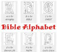 Galerry bible story alphabet coloring pages