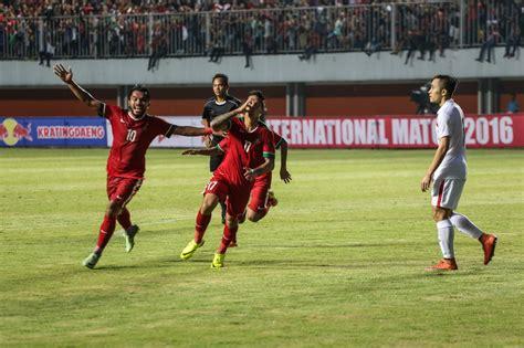 jadwal timnas indonesia di piala aff 2016 berita sulsel