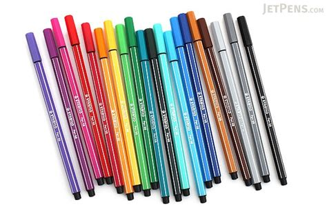 Stabilo Set 9 Warna stabilo pen 68 marker 1 0 mm 20 color set jetpens