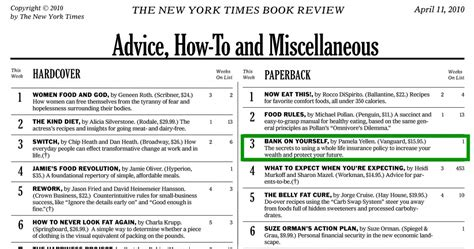 new york best sellers bank on yourself book a new york times best seller