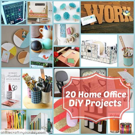 diy crafts for 20 home office diy projects a craft in your day