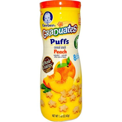 Gerber Graduates Puff By Susupedia gerber graduates puffs cereal snack 42g baby milk