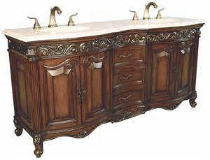 72 provincial sink chest bathroom vanity