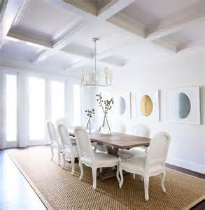 Dining Room Ceilings Coffered Ceiling Dining Room Transitional Dining Room Design