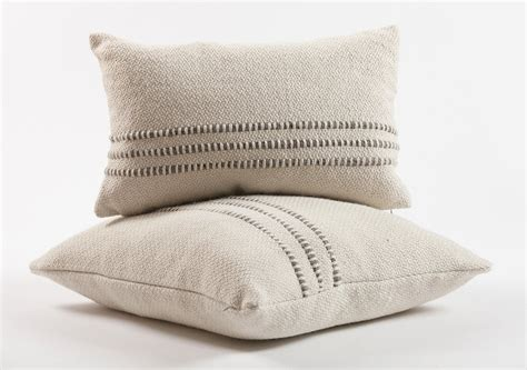 pillows and throws grey striped contemporary throw pillow homelosophy