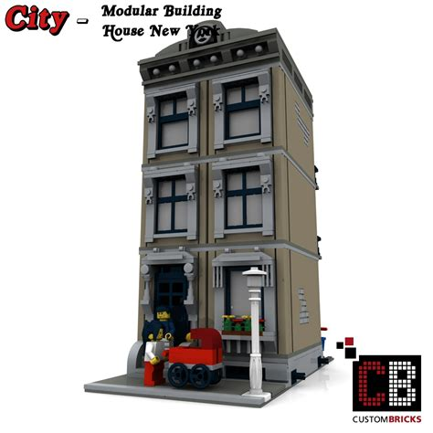 new york haus custombricks de lego city creator expert haus house