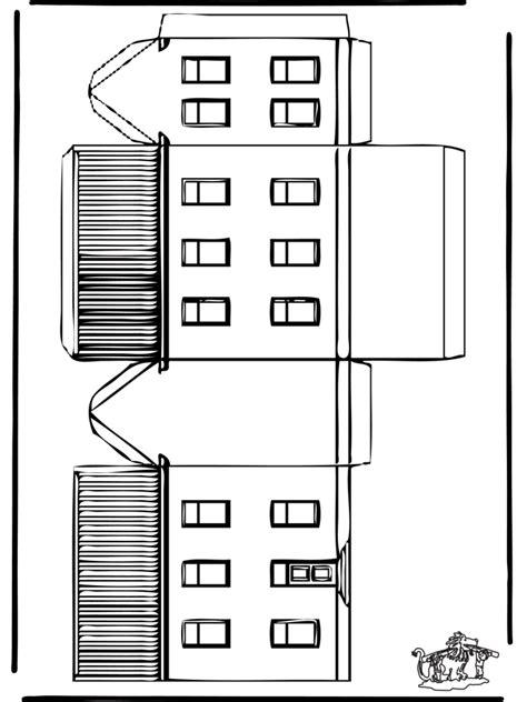 Haus Basteln by Modellbogen Haus Basteln Modellbogen