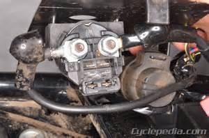 bayou 220 250 klf220 klf250 kawasaki service manual cyclepedia