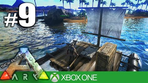 ark boat trap ark survival evolved xbox one 9 metal boat trip youtube