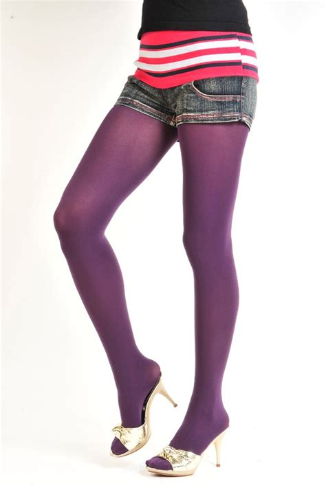 opaque colored tights stylish solid opaque colored footed tights