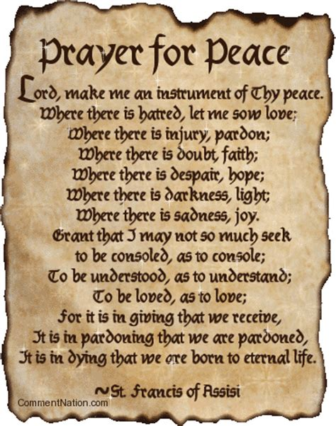 prayer of comfort and peace pray it forward dennyzendennyzen