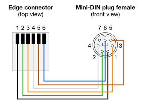 6 pin mini din wiring diagram 29 wiring diagram images