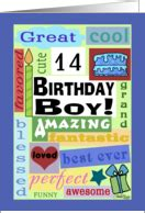 printable birthday cards 16 year olds 14th birthday cards from greeting card universe